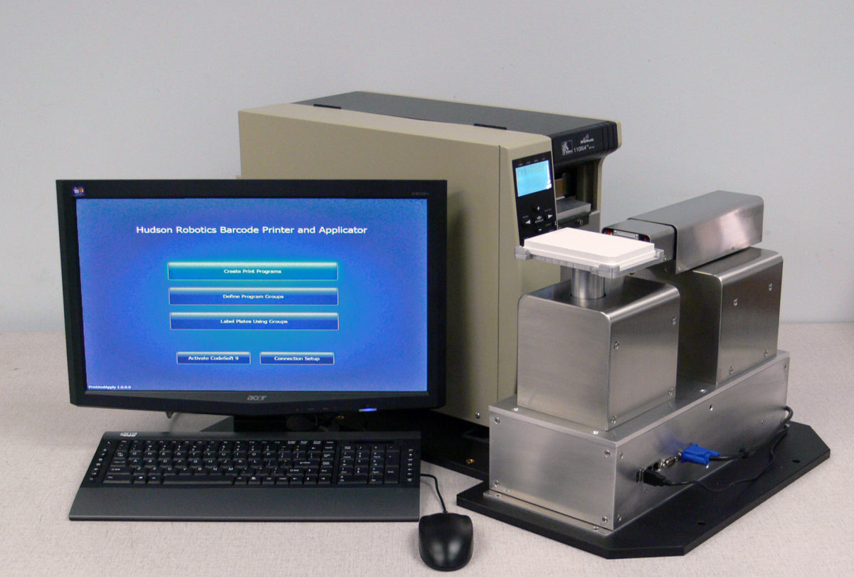 PA1000 Microplate Barcode Labeler