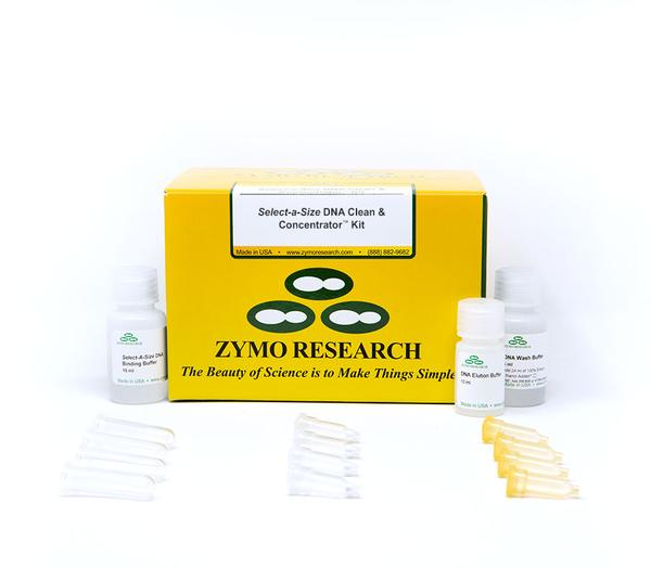 Select-a-Size DNA Clean & Concentrator® Kit